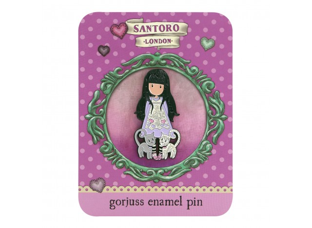 PIN/BROCHE GORJUSS.ENAMEL