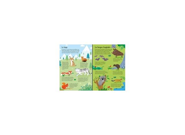 LIBRO Y PUZZLE 200 PIEZAS. ANIMALES DEL MUNDO