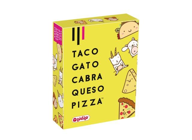 TACO, GATO, CABRA, QUESO, PIZZA