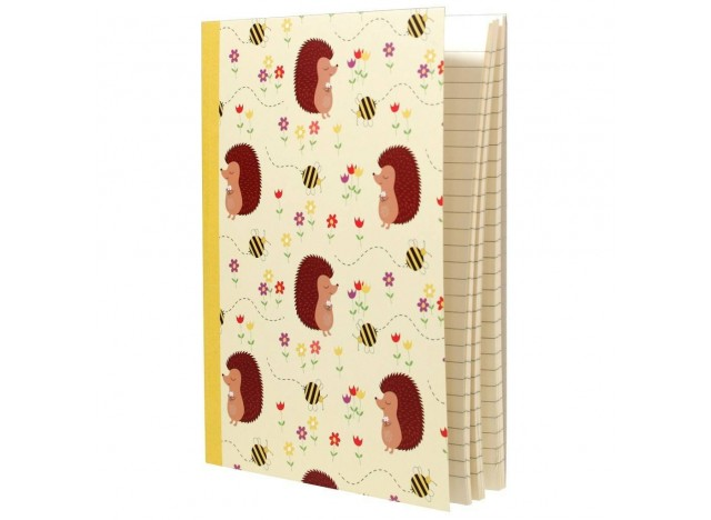 LIBRETA A5 ERIZO HONEY