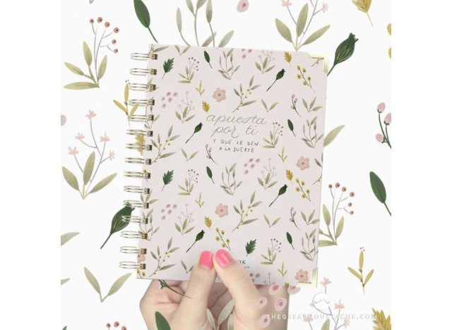 A5 CUADERNO - HAPPY FIELD. THE GREAT MOUSTACHE